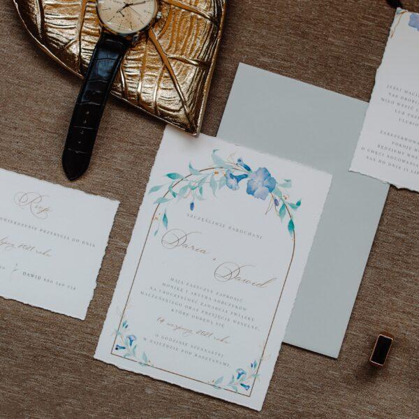 """Rustic invitation """"Laura"""""""